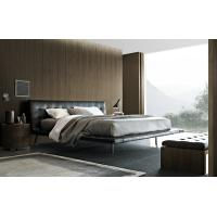 China Poliform Onda Modern Upholstered Bed Metal Sofa Hotel Type Stainless Steel on sale