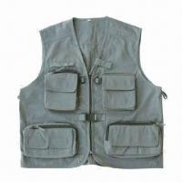China Fishing Vest, Available in Different Colors and Sizes, Suitable for Promotion wholesale