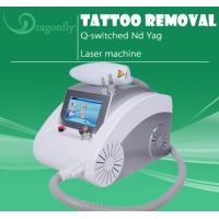 China Very Good Effect Professional q switched ndyag laser tattoo removal machine wholesale