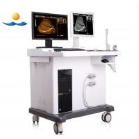 China 14 inch monitor medical device digital ultrasound system with workstation on sale