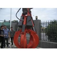 Quality 5 Cylinders Excavator Grapple , Hydraulic Orange Peel Grapple for sale
