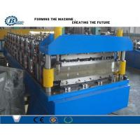 China Metal  Double Layer Roll Forming Machine For Corrugated Steel Roof Sheets wholesale