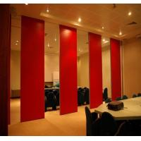 Buy cheap Panel Thickness 65 mm Aluminium Sliding Track Movable Door Rollers Banquet Hall from wholesalers