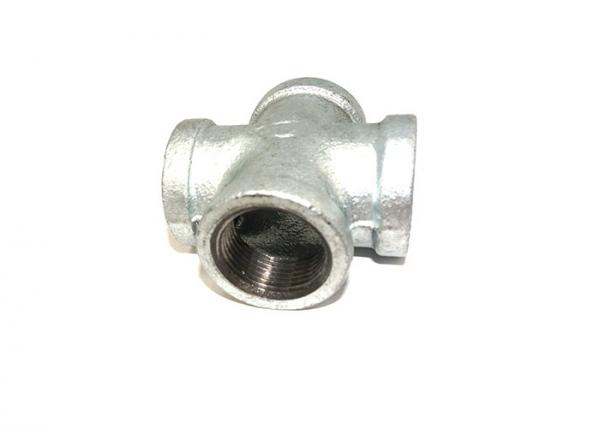 Quality Butt Welded 180 Pipe Fitting Cross 1/8	Inch Iron Pipe Parts With Airtight Test for sale