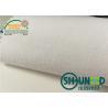 China Plain Weave Cotton Brush Shirt Interlining White Flat Coating wholesale
