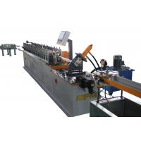China Ceiling Channel Roll Forming Machine / T Bar Suspended Ceiling Grid Production Line on sale