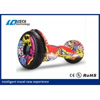 China Flashlight Smart 2 Wheel Self Balancing Scooter 3 Hours Charging Time , Save Fuel wholesale
