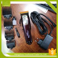 PF-805 High Quality Li ion Battery 150 Minutes Oparation Cordless Hair Clipper Rechargeable Barber Trimmer