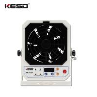 China Indoor High Frequency AC Bench Top Ionizer , Hot Ionizing Air Blower Fan wholesale
