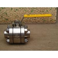 China 800lb 3PC Forged Steel Ball Valve (Threaded End) on sale