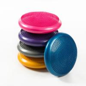 China 33cm PVC Balance Yoga Balls Massage Pad Wheel Stability Disc Massage Cushion Mat on sale