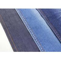 China 10.3oz Stretch Denim Fabric Twill Jeans Material Classic Blue Color W186 86*56 Density wholesale