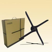 China 3d 100 Cm Hologram Display Fan With SD Card / WiFi Indoor Advertising Equipment wholesale