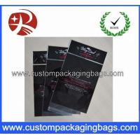 China Clear Header Custom Packaging Bags Plastic OPP Recycled For Crafts wholesale