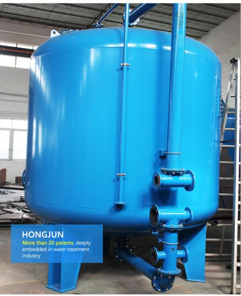 Quality High Efficiency Multimedia Filters Water Treatment Reliable Operation for sale
