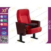 China Powder Coating Finish Legs Auditorium Theater Seating Furniture With Tablet wholesale