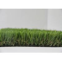 C Shape Outdoor Landscaping Artificial Turf Fake Grass With Natural Appearance
