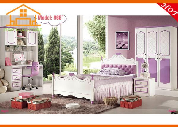 cheap children beds modern kids little girls bedroom furniture