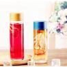 China Clear Cylinder Glass Bottle,bubble tea glass bottle wholesale