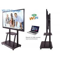 China 43 Multi-Media Digital LCD Touch Screen Kiosk Wall mounted Language Supported wholesale