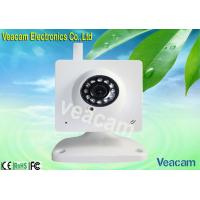 China Mini Wireless External IP Camera with Fixed Iris and 850nm Infrared LEDs wholesale