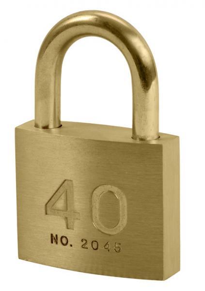 Quality cadenas de dispositif d'accrochage de laiton de 40mm, clé en laiton solide de cadenas de fabricant de cadenas de porcelaine for sale