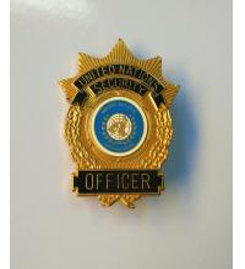 Buy cheap Эмаль значка военной полиции безопасностью Организации Объединенных Наций трудна from wholesalers