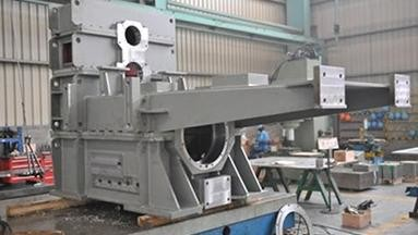 Quality Fabricahtion and machining work of steel frame for papermaking machine for sale