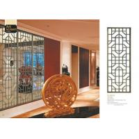 China Lightweight Decorative Metal Screen Panels For Separate / Beautify / Coordinate Space wholesale