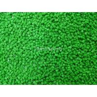 Green Rubber Synthetic Turf Infill For Outdoor , Artificial Grass Infill