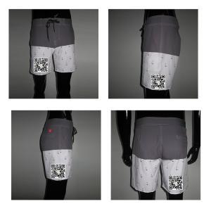 China Custom Printed Fashion Mens Swim Shorts Style, Men Beach Surf Shorts on sale