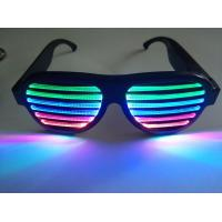 China 2019Hot Sales New Style Rechargeable LED Flashing Glasses for Promotion Gift Wear at Rave Concert Rave Party Dancing on sale