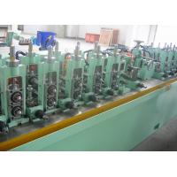 China Straight Seam Welded Tube Mill Line 7 - 18 mm OD , Carbon Steel Pipe Mill Production Line wholesale