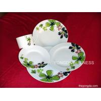 China white porcelain 30 pieces dinnerware,  dinner set wholesale