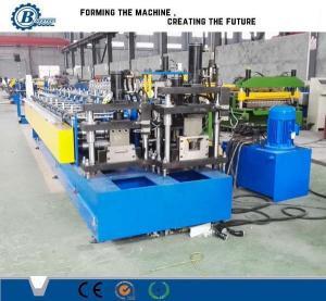 China Double Light Steel Row Irregular Shape Metal Stud Roll Forming Machine High Speed wholesale