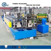 China Drywall Stud And Track Roll Forming Machine / Roll Forming Equipment For Light Steel Track wholesale