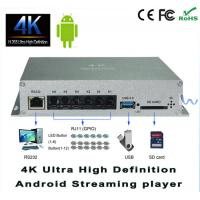 China ARM Cortex A9 Quad Core 4K AndroidStreamingHD Codec Media Player For Airports wholesale