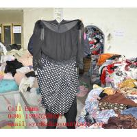 China 2014 second hand woman clothing manufacturer wholesale