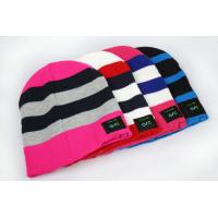 Buy cheap 2015 hot high quality wholesale girls males knit slouchy beanie bluetooth cap from wholesalers