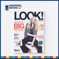 China CMYK full color fashion clothing magazine printing service with Coated art Paper 250gsm on sale