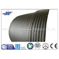 China Hot Dipped Galvanized Steel Wire Rope For Building , 19x7 Non Spin Wire Rope Cable wholesale