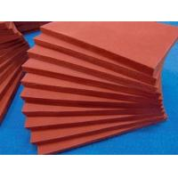 China Silicone rubber foam sheet  Silicone foam sponge sheet in rolls  High temperature heat resistant  soft wholesale