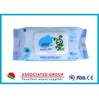 China Ultra Packing Baby Wet Wipes Pearl Dot Spunlace Uncontinuorsly Extrating 90PCS wholesale