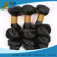 Buy cheap Brazilian Remy Virgin Human Hair Extension without Fibers with 4*4 Lace Closed Loose Waves from wholesalers