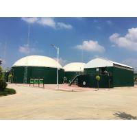 China Anti Bacteria Bolted Steel Water Tanks 6.0 Mohs Hardness 30 Years Service Life wholesale