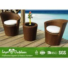China Latest Design Hot Sale Patio Outdoor Furniture Rattan Outdoor Patio Furniture Bistro Setting Outdoor Furniture wholesale