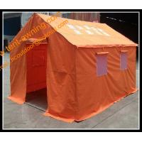 China Multifunction Emergency Refugee Steel Frame  Waterproof  Family  Relief Tent wholesale