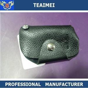 China Fashionable Leather Key Pouch Intelligent Key Chain Holder For Mistubishi wholesale