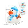 China LED Christmas duck, Flashing Santa ducks, Glow in the dark night Luminous duck wholesale