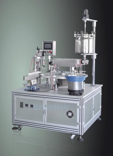 shell tanks Weinview Cosmetics Filling Machine for Automatic Filling ...